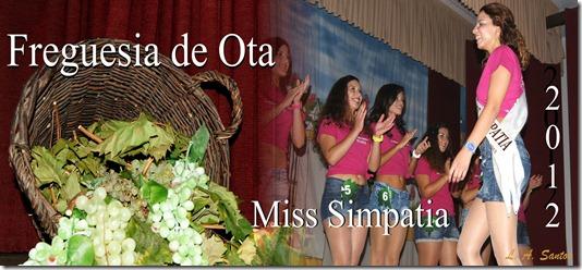 Miss Simpatia 2012