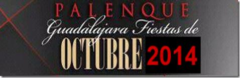Palenque Fiestas de Octubre 2014 en Guadalajara