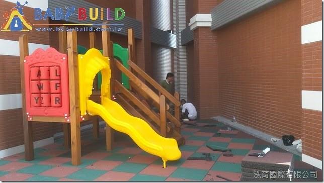 橡膠安全地墊專業施工鋪設