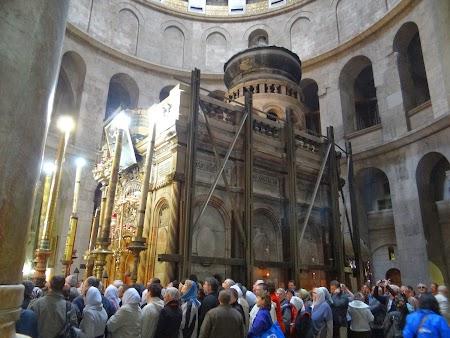 Obiective turistice Ierusalim: Capela Sfantului Mormant