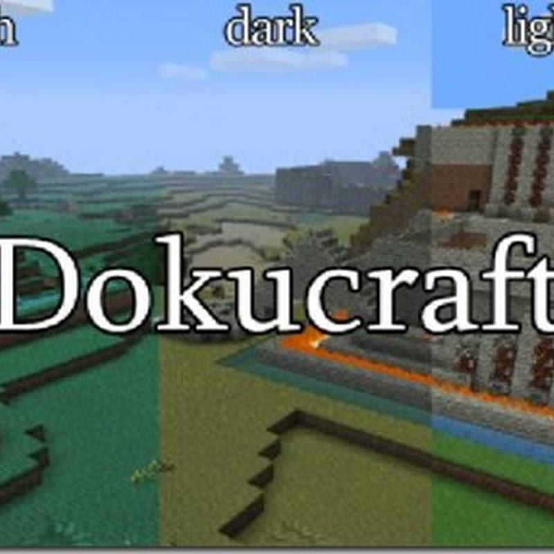 Minecraft 1.5 - Dokucraft Texture pack 16x/64x (la saga continua)