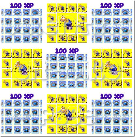 100 xp   1 luce notturna