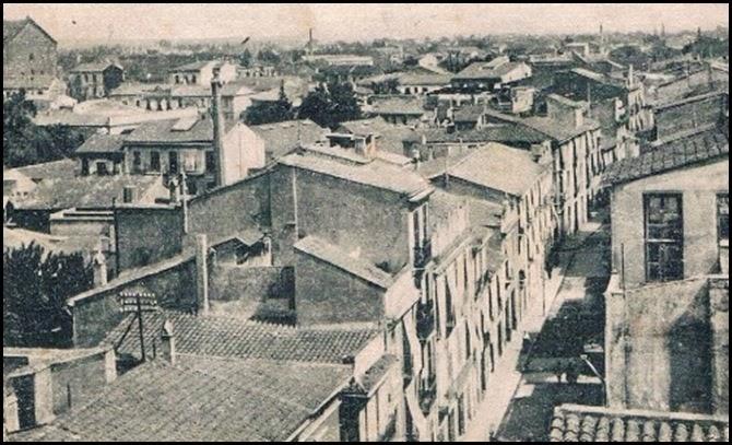 Calle de Sagunto, ca. 1915