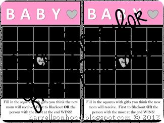 Baby bingo girl