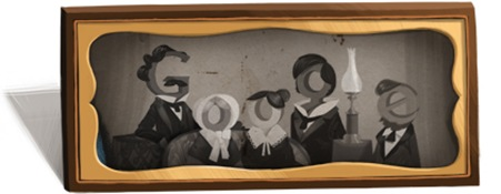 Louis Daguerre's 244th Birthday-Google Logo