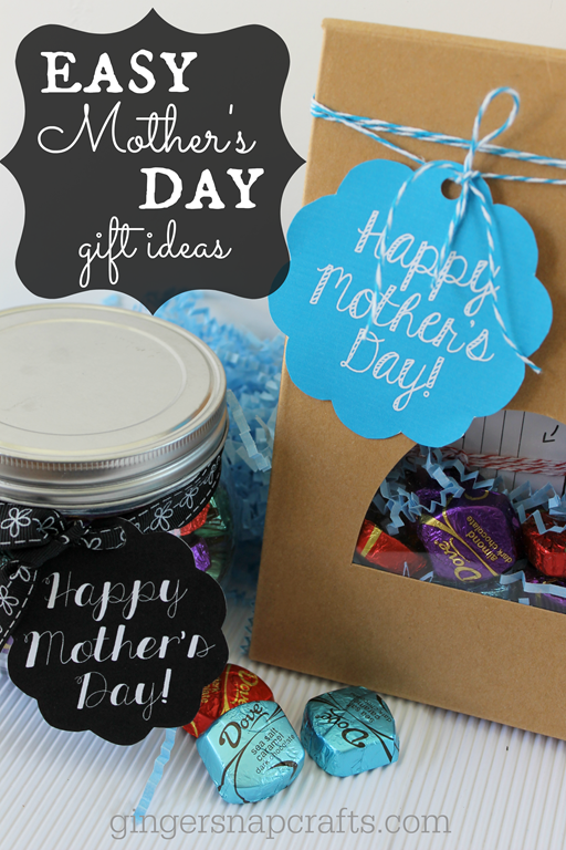 ginger snap crafts easy mother s day gift ideas with dove dark