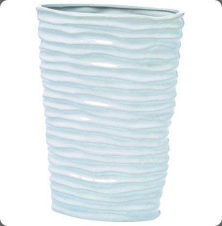prop modernwhite vase hubert
