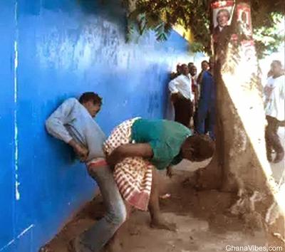 People caught on camera having sex
