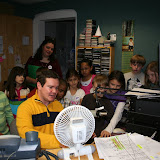 Station Tour - St John&#039;s 3rd Grade Class - Ms. Guelzow - 1-18-11