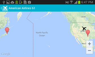 Screenshot of Find my Plane