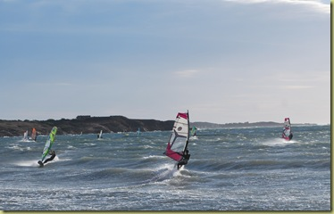 Windsurfers 1 at Six-Fours-les Plages