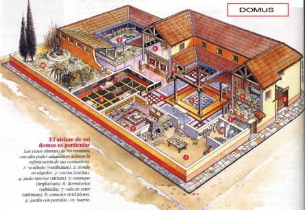 Stug 39 s roman structure guide part 1 domus minecraft blog for Arquitectura romana pdf