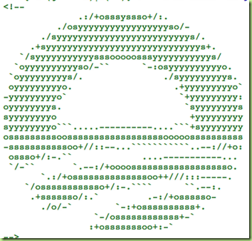 obama symbol in javascript