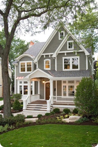 gorgeous exterior colors, makes white trim pop
