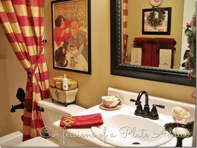 CONFESSIONS OF A PLATE ADDICT Frenchy Guest Bath