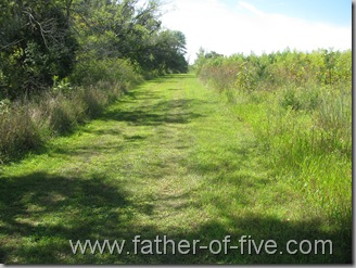 Ney Nature Center - Trail between the Ravine and the Prairie Grasslands