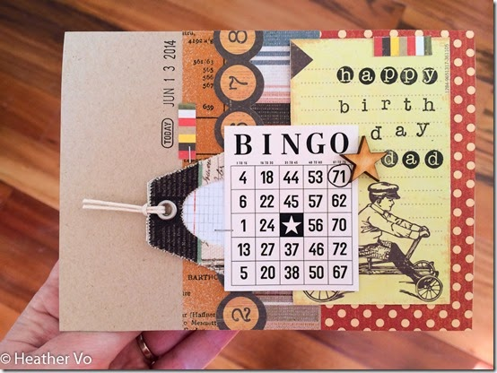 Retro Masculine Card by Heather Vo