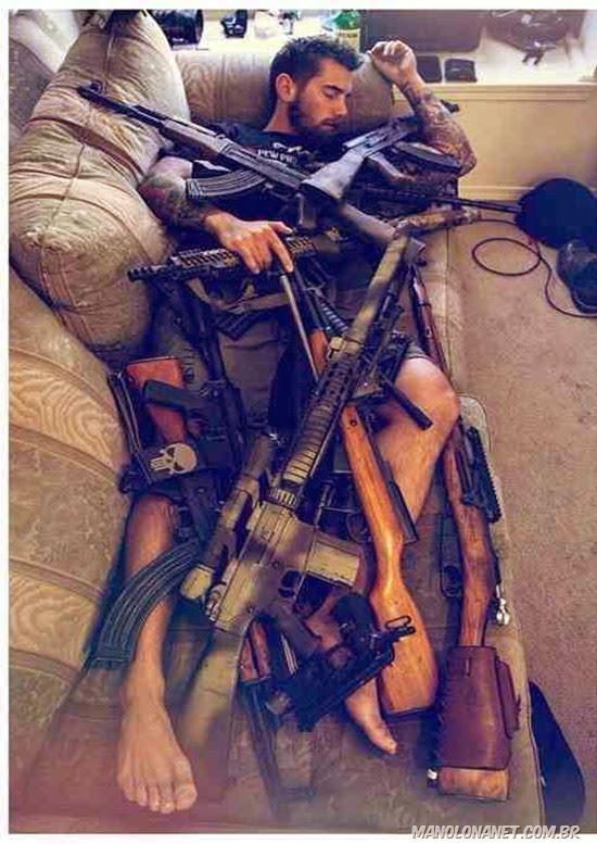 Como um homem de verdade dorme