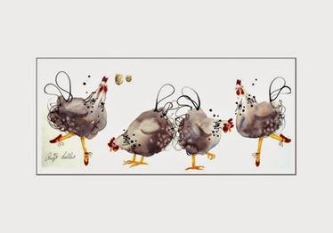 Antje Collis tra-la-la Criteria is doodling
