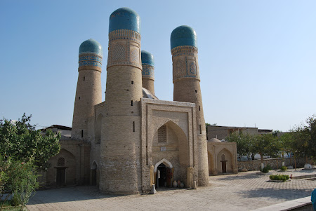 Obiective turistice Uzbekistan: Bukhara - Char Minar.