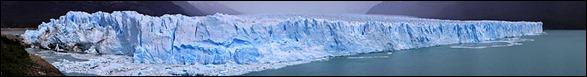 Panorama of Perito Moreno Glacier
