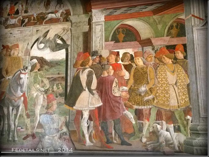 Palazzo Schifanoia, Salone dei Mesi, Ferrara, Italy, Photo2