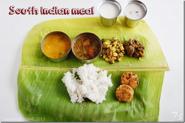 South indian meal pic2
