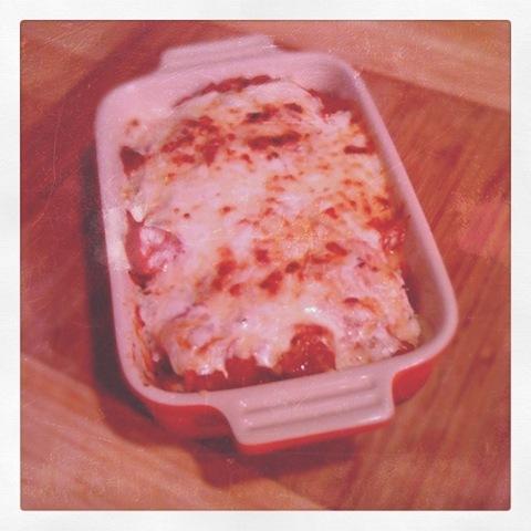 #24 - Leftover chicken and sweet potato jerk enchiladas