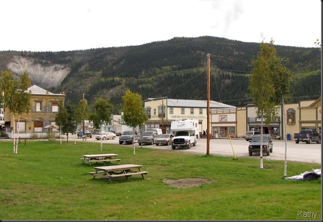 Downtown Dawson City