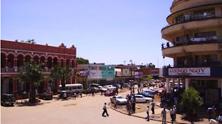 Une vue du centre ville de Lubumbashi