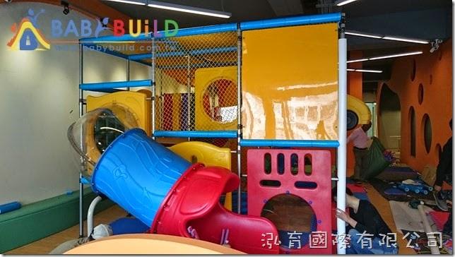BabyBuild 室內3D泡管兒童遊具泡棉包覆施工