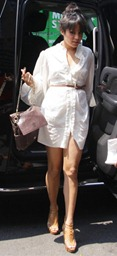 vanessa-hudgens-white-shirt-dress-pour-la-victoire-pascale-sandals