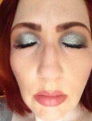 wearing Metal Glam Eye Shadows_3