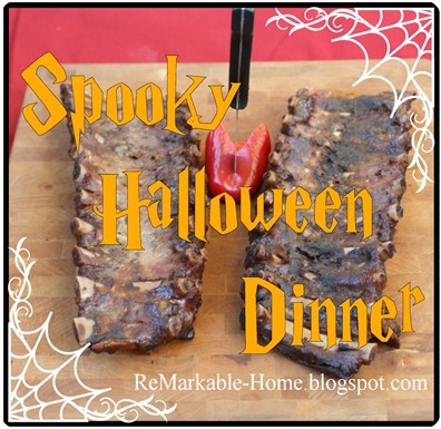 spooky Halloween dinner copy