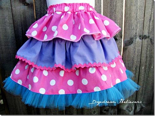 handmade abby cadabby sesame street birthday skirt