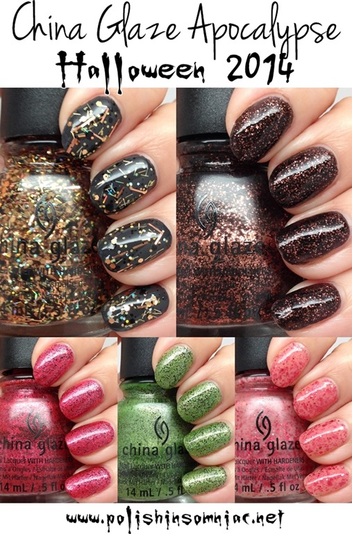 China Glaze Apocalypse Halloween 2014