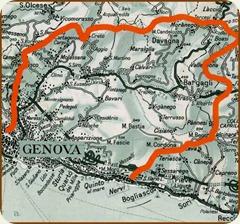 Forte_Diamante Genova_mappa