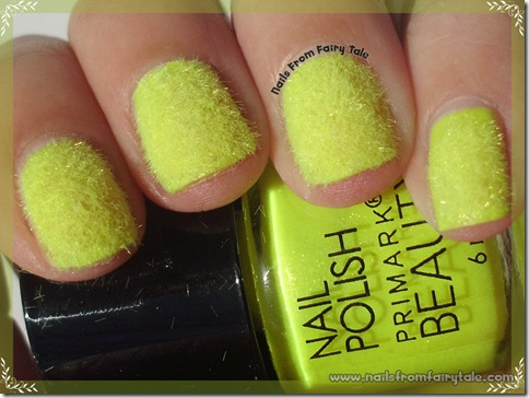 neon yellow flocking powder 2