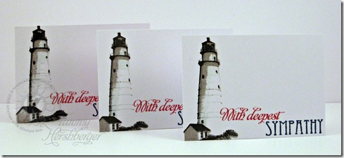 lighthouse enclosure cards