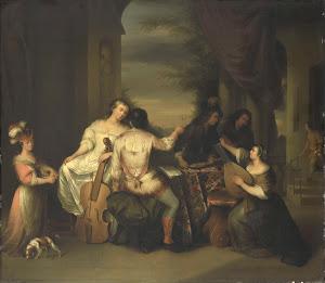 RIJKS: Melchior Brassauw: painting 1757