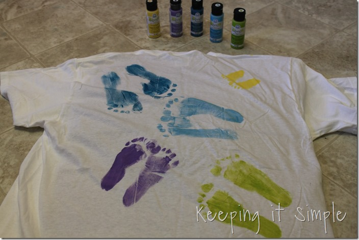 Father's Day Footprint shirt (4)