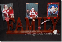 family photo holder