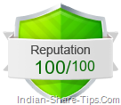 web reputation marks for Indian-share-tips