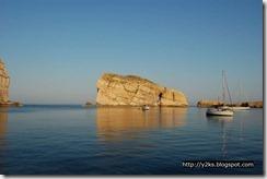 La baia di Dewira al mattino presto - Gozo
