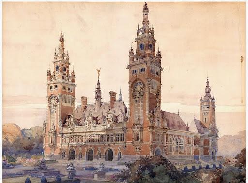 Palacio de la libertad en la Haya
