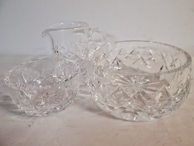 Waterford Crystal Trio