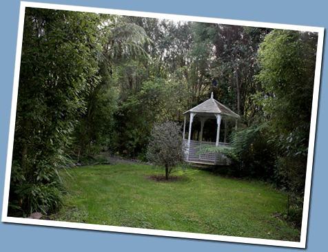 The quiet corner of the garden