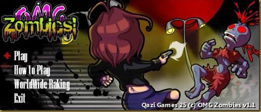 OMG Zombies タイトル