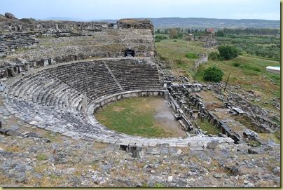 Miletus Theatre view