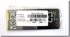 """Аккумулятор-копия L-S1 для BlackBerry Z10. """"Аккумуляторный элемент сделан в Корее, в дальнейшем все собрано в Японии"""". Ух, какая глупость"""